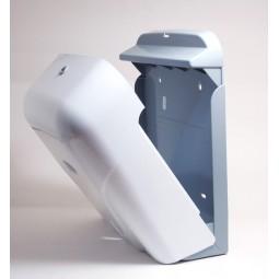Distributeur d'essuie-mains enchevêtrés en ABS blanc capacité de 400 à 600 serviettes