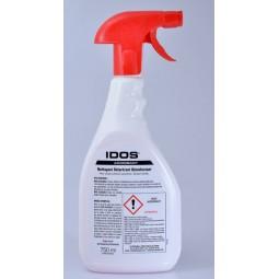 IDOS ACIDOBACT Nettoyant, détartrant, désinfectant, bactéricide et fongicide floral pistolet