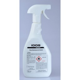 IDOS CLEAR Désinfectant bactéricide fongicide virucide et sporicide alimentaire floral pistolet