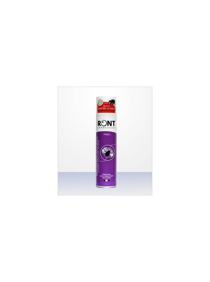 Aérosol anti-acariens / acaricide puissant RONT