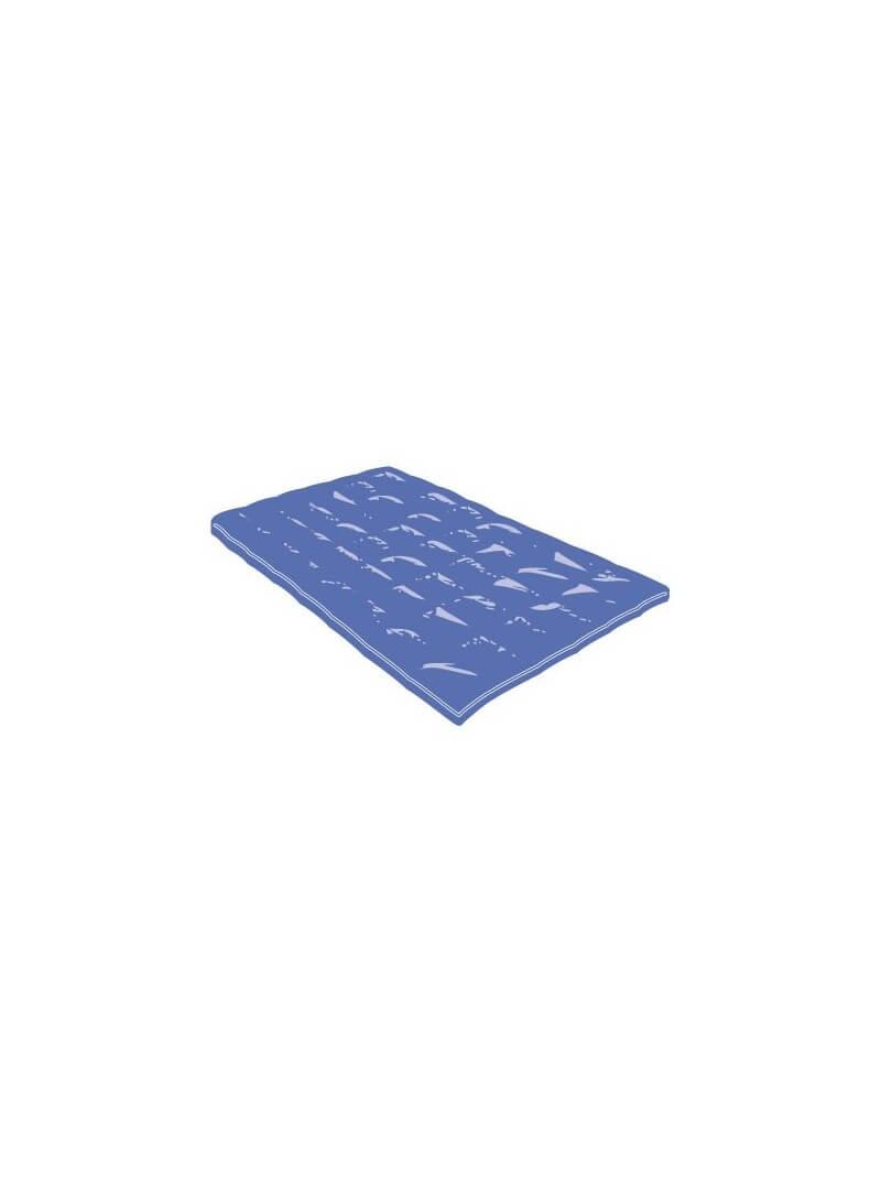 Couette jetable semi durable bleu nuit pour lit 1 place