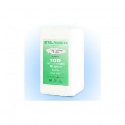 Compresses de gaze non stériles 7.5x7.5cm en sachet de 100