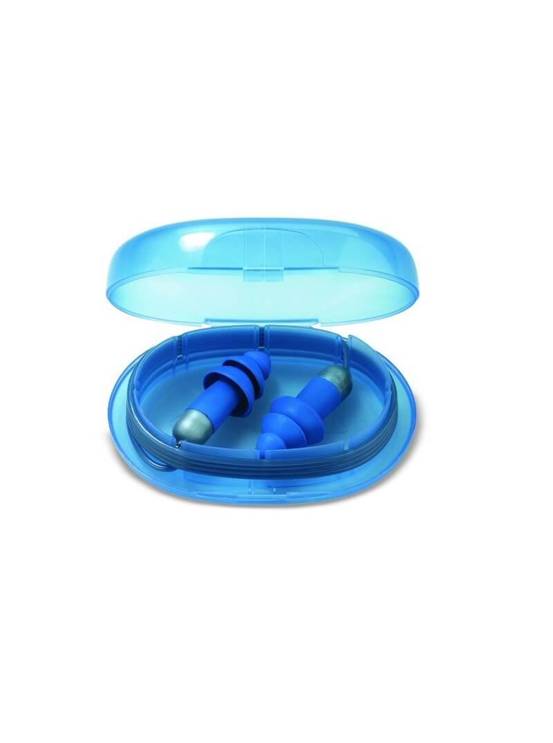 Paire de bouchons anti-bruit détectables et réutilisables avec cordelette Moldex