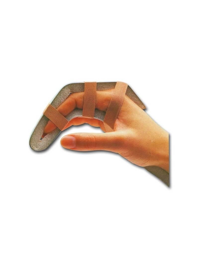 Attelle alu-mousse 1.3x23cm