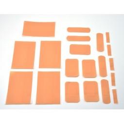 Sachet de 20 pansements assortis plastique chair avec compresse