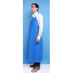 Tablier PVC bleu