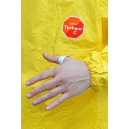 Combinaison Tychem C Standard jaune T XL SANS chaussette