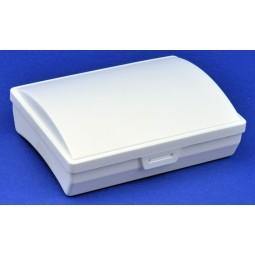 Trousse de secours vide PST taille 5 blanche en plastique