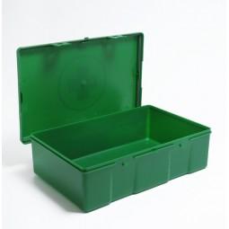 Trousse de secours vide sans poignée taille 20 verte