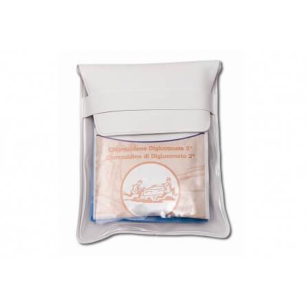 Pocket kit de premiers secours avec lingettes désinfectantes et pansements