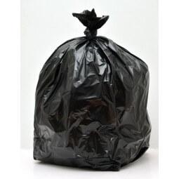 Sacs poubelle 110L PE BD noir super renforcé SANS LIEN