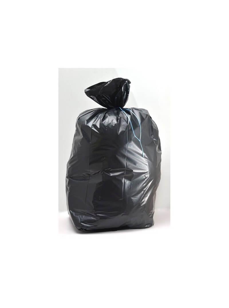 Sacs poubelles 110L PE BD Super renforcé noir