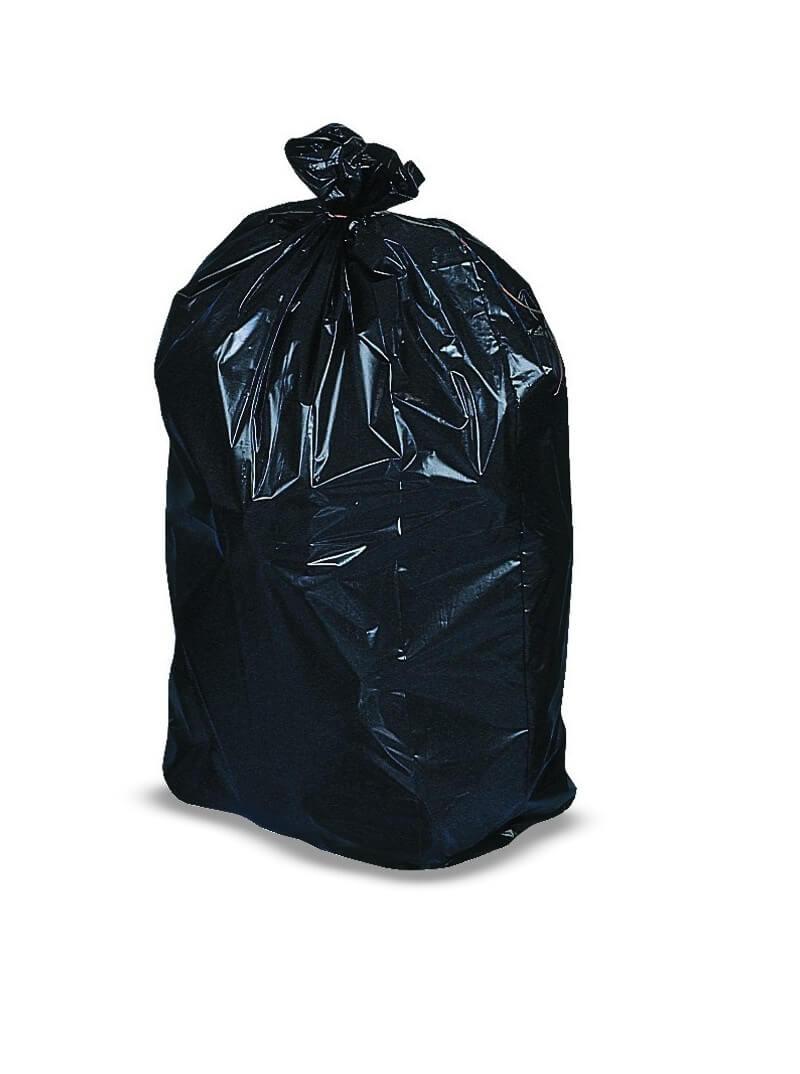 Sacs poubelles 160L PE BD super renforcé noir