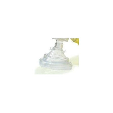 Boîte de 20 masques à usage unique adulte no5 pour insufflateur Laerdal Bag II