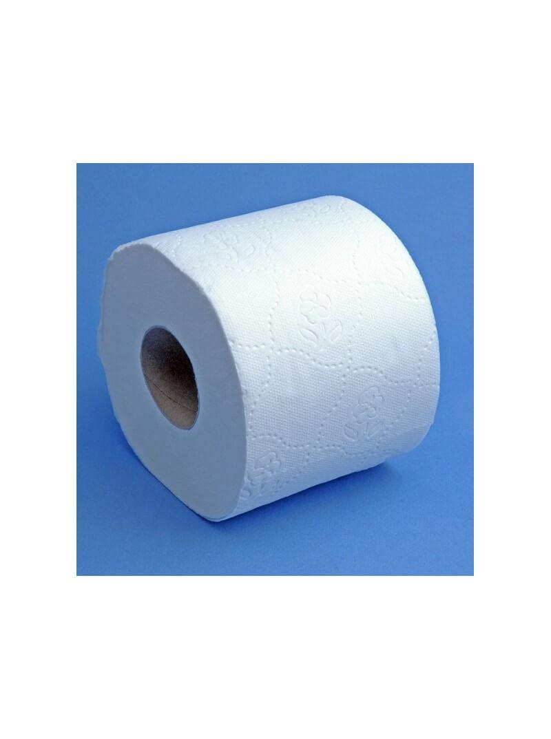 Papier toilette en rouleau COMPACT double épaisseur