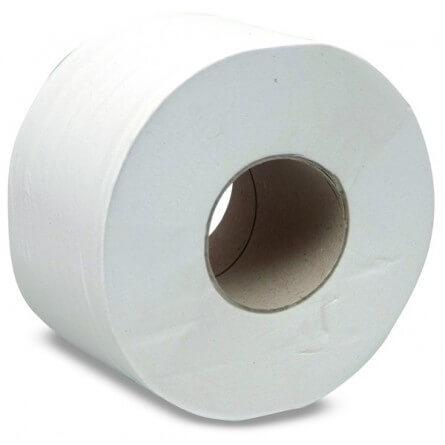 Papier toilette MINI JUMBO lisse blanc