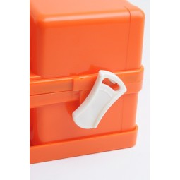 Trousse de secours rouge ABS vide à poignée moulée taille 30