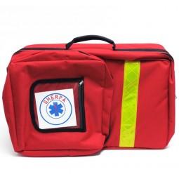 Sac à dos de premiers secours vide rouge