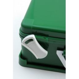 Trousse de secours vide à poignée amovible taille 30 verte