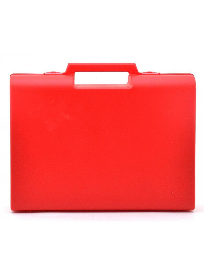 Trousse rouge rigide polypro 32.6x23.6x8.5cm