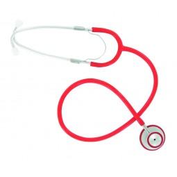 Stéthoscope simple rouge