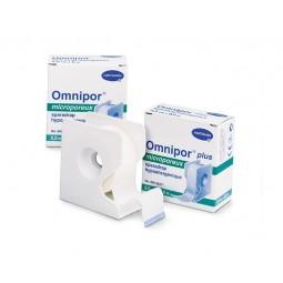 Sparadrap microporeux 9.2m x 2.5cm avec dévidoir Omnipor®