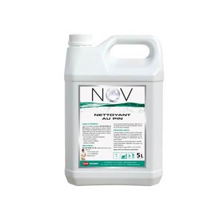 Nettoyant non moussant lavage manuel ou autolaveuse pin SALON bidon 5L (prorisk)