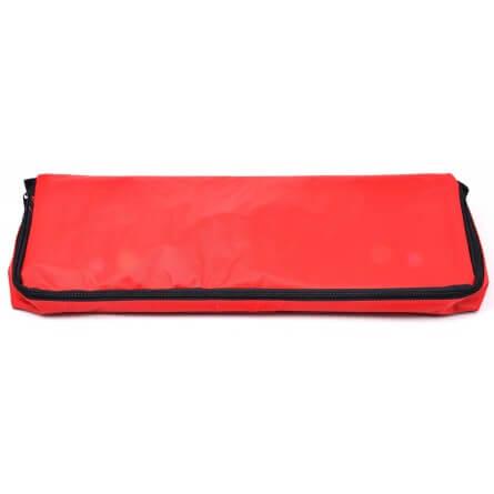 Sac nylon rouge vide