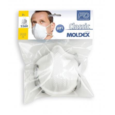 Masque de protection FFP1 D sans soupape MOLDEX