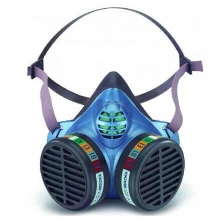 Demi-masque de protection jetable A1B1E1K1 Moldex