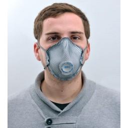 Masque de protection FFP2 coque anti-odeur avec soupape MOLDEX