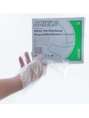 Gants PE transparent T.XL (9) 930-1 sachet souple de 100 gants