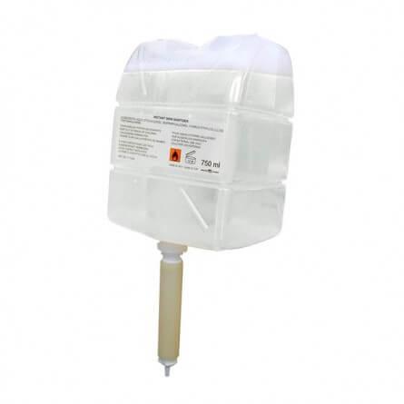 Cartouche SICC 750ml de lotion hydroalcoolique mains avec pompe