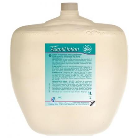 Lotion antiseptique mains LOTION ASEPTIL cartouche Alphamouss L 1L