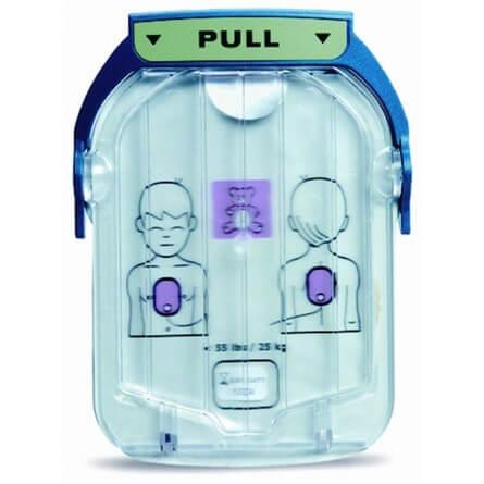 Paire d'électrodes SMART nourrissons/enfants pour HeartStart HS1 LAERDAL