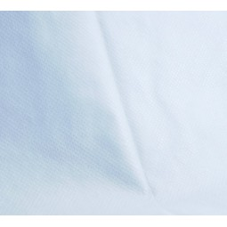 Alèse jetable housse imperméable 140x190x15cm recyclable blanche