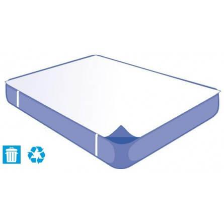 Alèse jetable plateau 140x190cm  pour lit 2 places produit recyclable