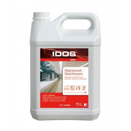 IDOS DN Dégraissant désinfectant bactéricide fongicide et virucide alimentaire bidon 5L