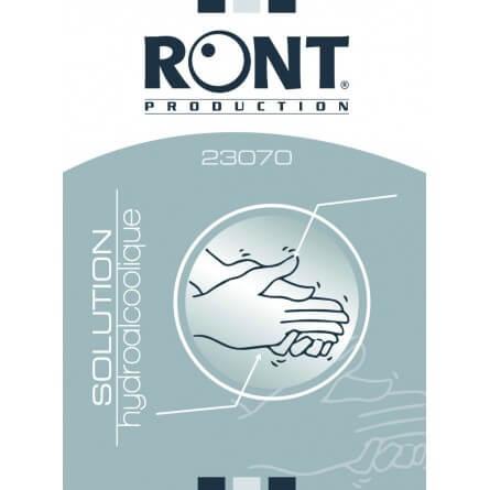 Sachet de 10 solutions hydroalcoolique décontaminante RONT