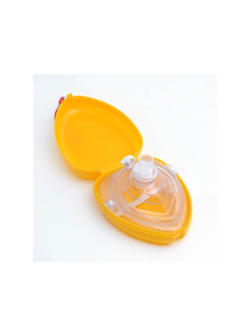 Masque de réanimation de poche orange