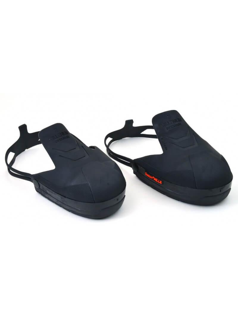 Lot de 5 paires d'embouts visiteurs pour protection pieds 3 tailles noir