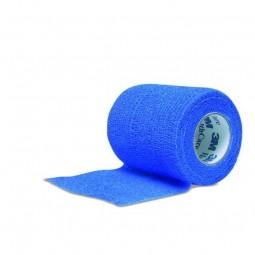 Bande cohésive Coban Bleue 3M 4.5mx5cm