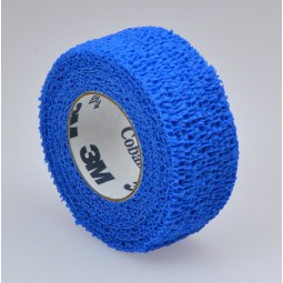 Bande cohésive Coban Bleue 3M 4.5mx2.5cm