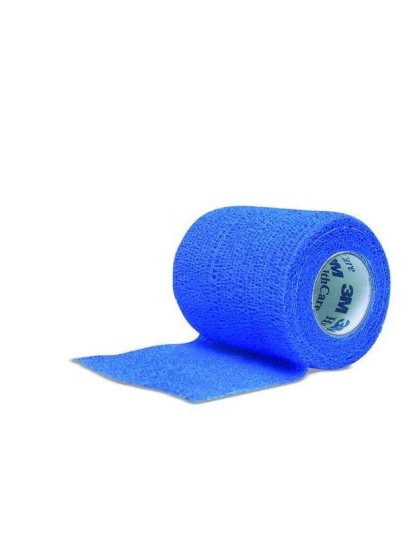 Bande cohésive Coban Bleue 3M 4.5mx7.5cm
