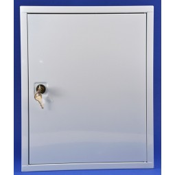 Armoire infirmerie métal 1 porte simple vide