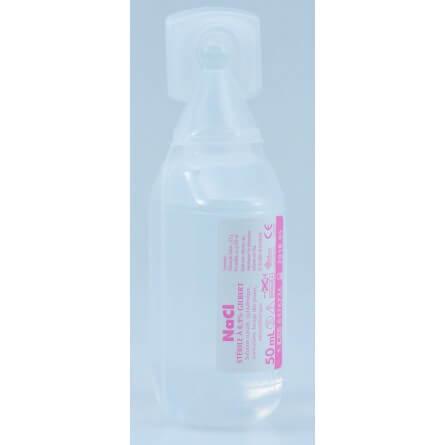 Sérum physiologique en unidoses de 50 ml (prorisk)