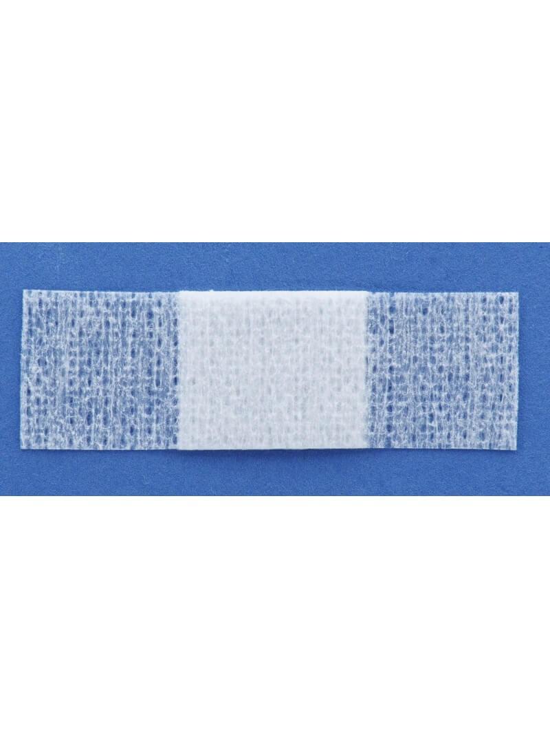 Sachet de 10 pansements non tissé blanc 1x4cm