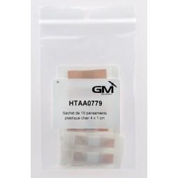 pansement plastique chair avec compresse 1x4cm