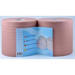 Bobines essuyage industriel lisse chamoi