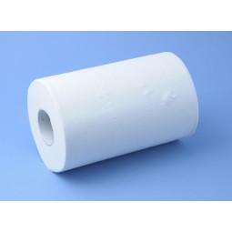 Essuie-main bobine MINI dévidage central lisse blanc